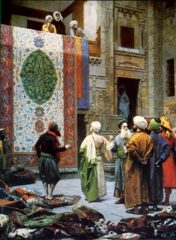 Торговцы коврами египетский худ